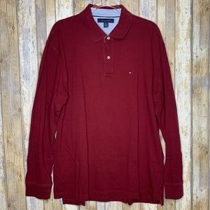 Tommy Hilfiger Shirts - (3) Tommy Hilfiger Long Sleeve Polo Shirt Bundle.